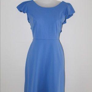 Enfocus Studio Light Blue Ruffle Dress Size 4